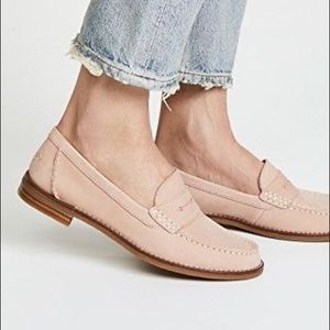 Sperry Top-Sider Pink Leather Seaport Penny Loafer